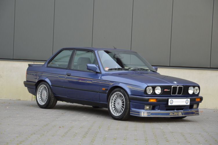 BMW Alpina B3 Coupe (E30) cars 1987 1992 wallpaper