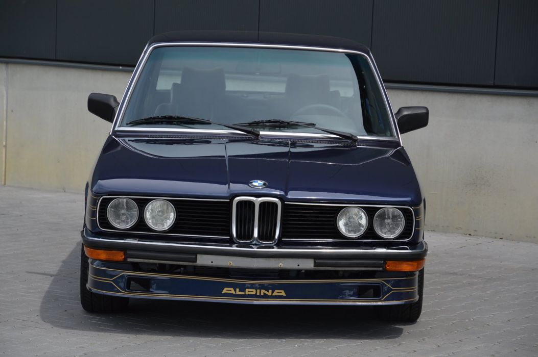 BMW Alpina B7 S Turbo cars (E12) 1981 1982 wallpaper