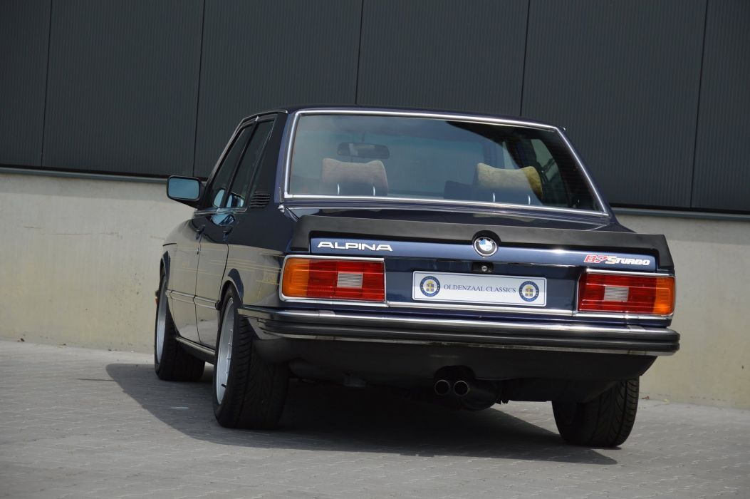 BMW Alpina B7 S Turbo cars (E12) 1981 1982 wallpaper