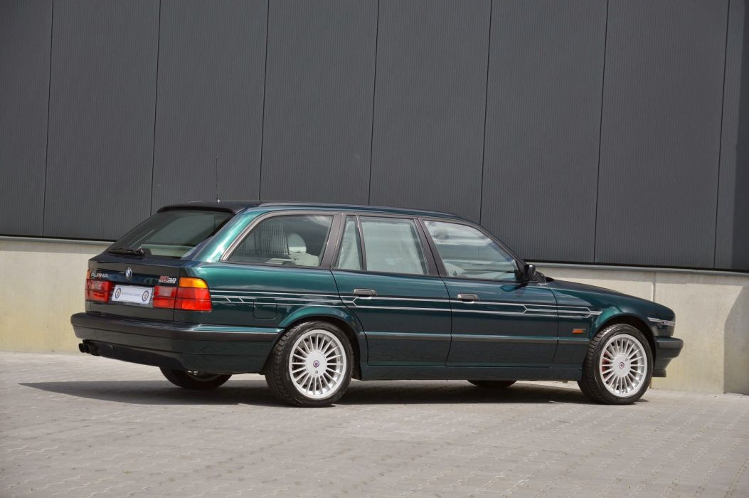 BMW Alpina B10 Allrad Touring wagon cars (E34) 1993 1996 wallpaper