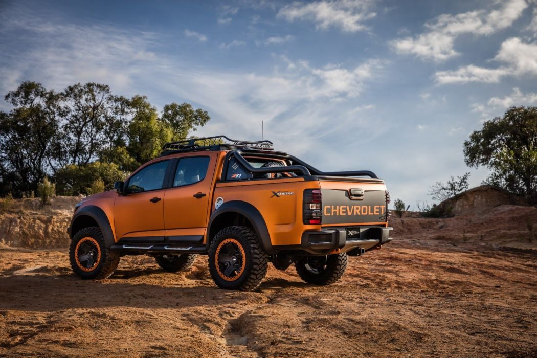 Chevrolet Colorado Xtreme Study cars truck pickup 2016 wallpaper