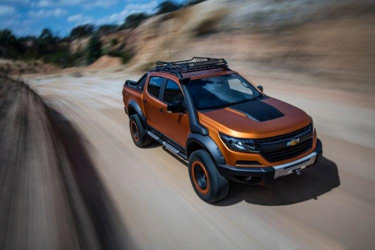 Chevrolet Colorado Xtreme Study cars truck pickup 2016 wallpaper