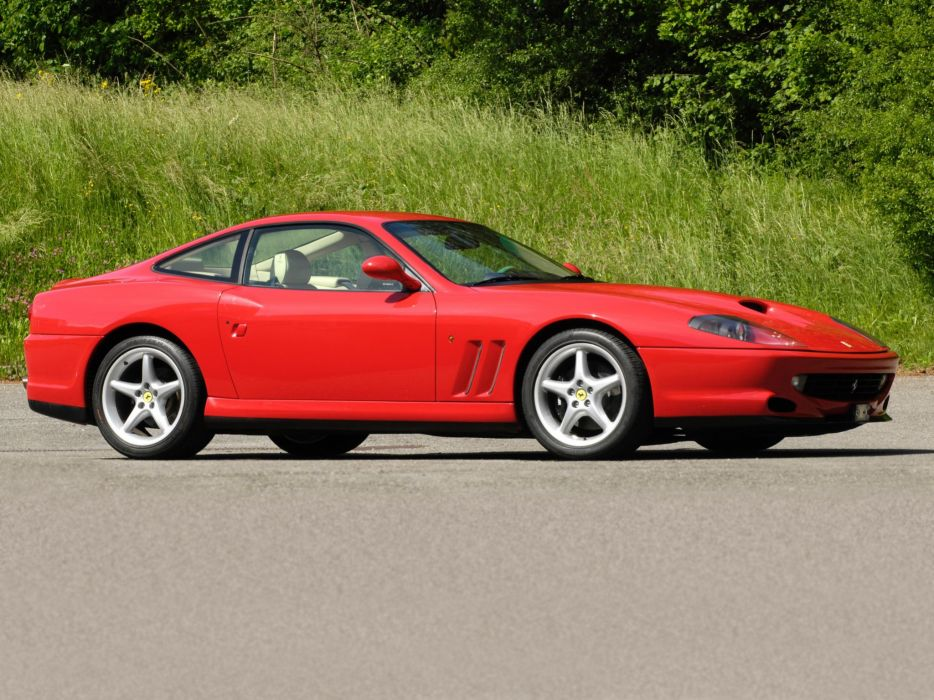 Ferrari 550 Maranello cars 1996 2002 wallpaper