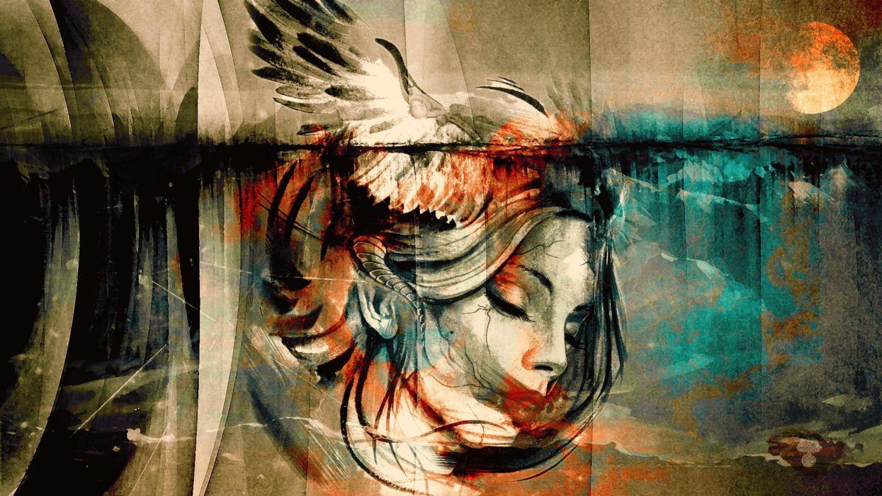 art artwork fantasy artistic original abstract abstraction wallpaper