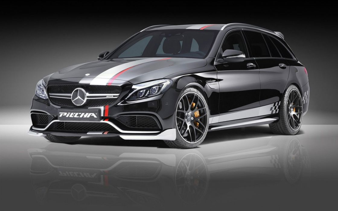 2016 Piecha Design Mercedes AMG C63 Estate cars wagon modified wallpaper