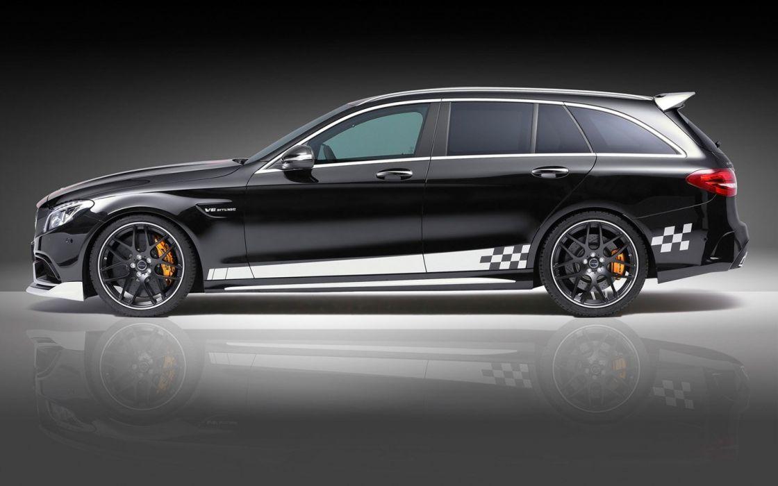 2016 Piecha Design Mercedes AMG C63 Estate cars wagon modified wallpaper