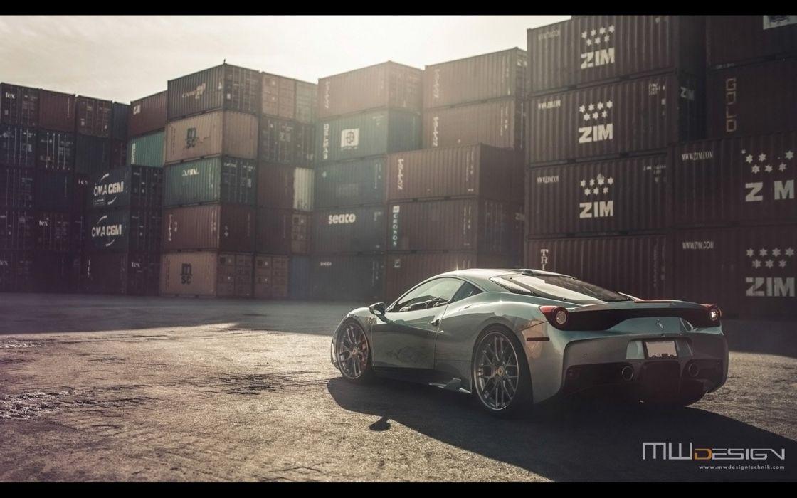 2016 Brixton Forged wheels Ferrari 458 Speciale cars wallpaper