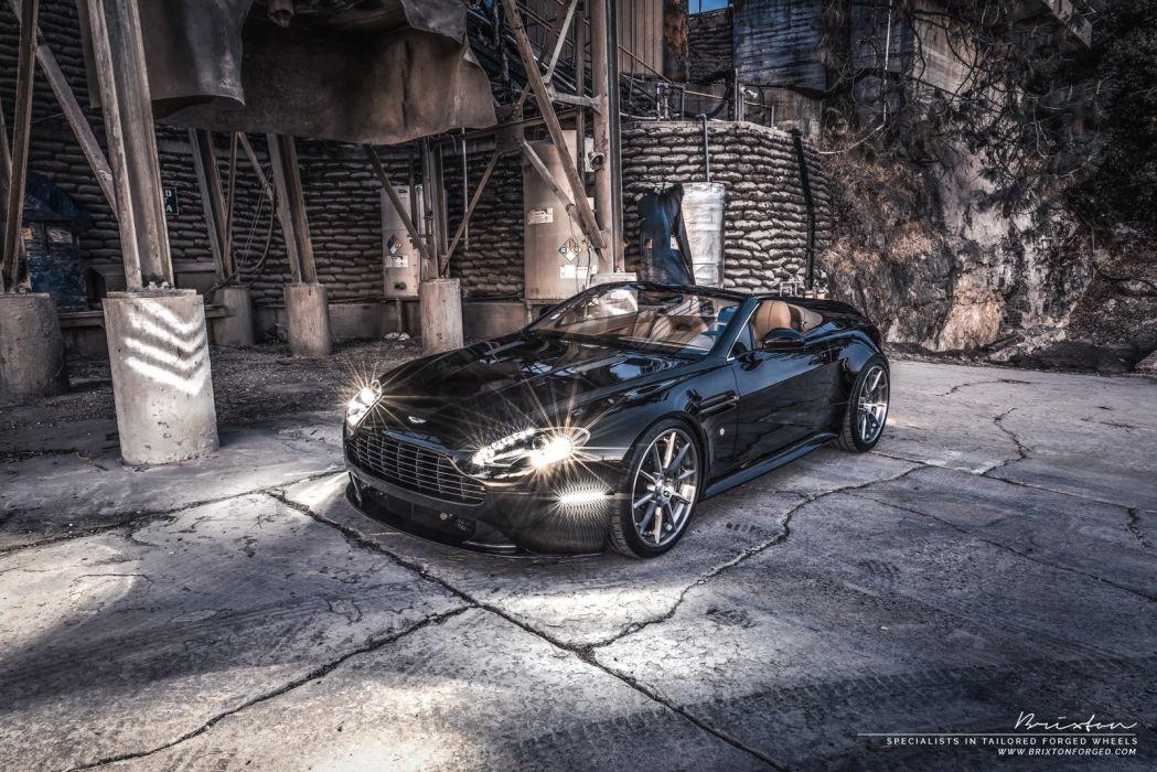 Brixton Forged Aston Martin Vantage S cars modified wheels wallpaper
