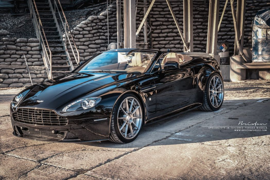 Brixton Forged Aston Martin Vantage S cars modified wheels wallpaper