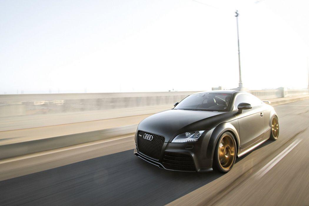 audi tt rs cars black cars wheels wallpaper