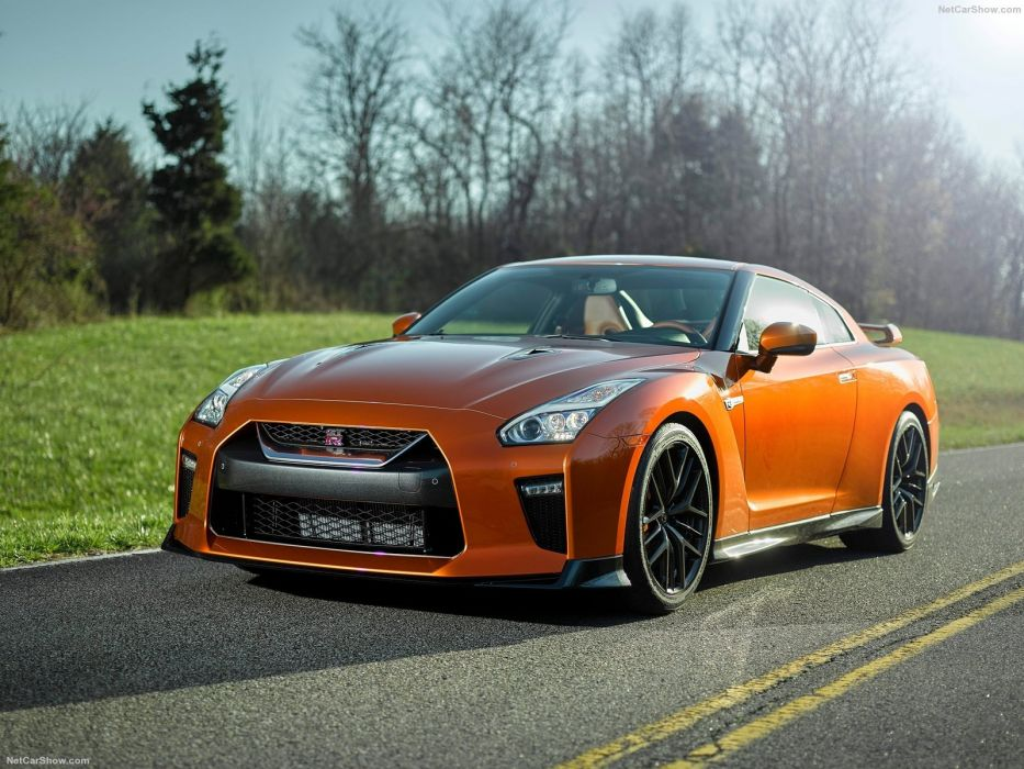 2017 nissan GT-R cars coupe godzilla wallpaper