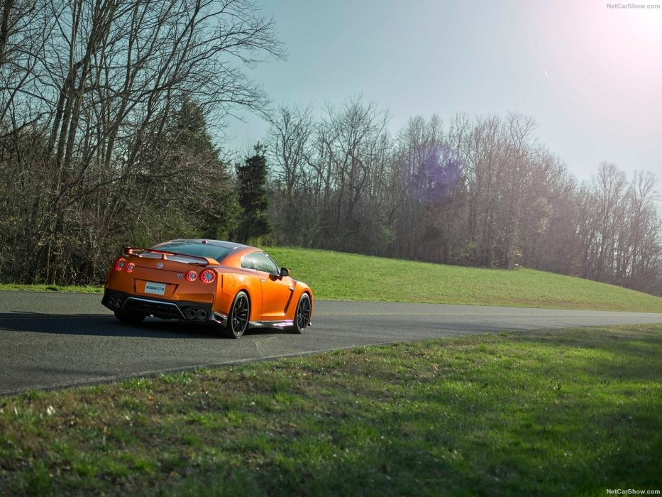 2017 nissan GT-R cars coupe godzilla wallpaper