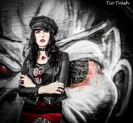 FEMALE METAL heavy fetish women woman girls hard rock sexy babe wallpaper