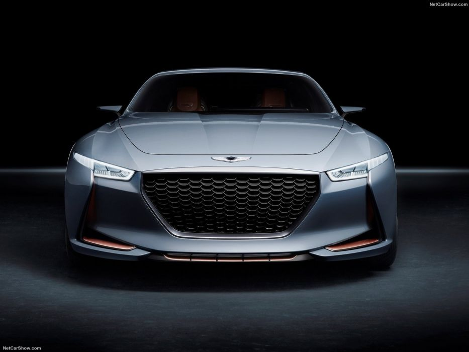 Hyundai Genesis New York Concept cars 2016 wallpaper