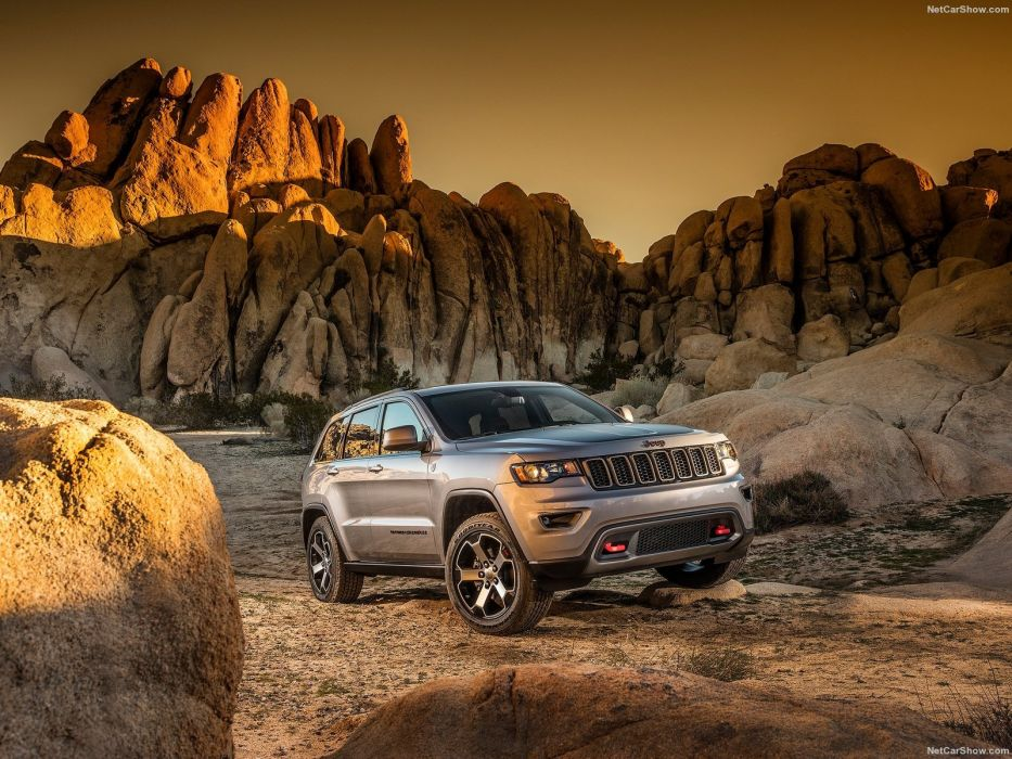 Jeep Grand Cherokee Trailhawk suv cars 2016 wallpaper