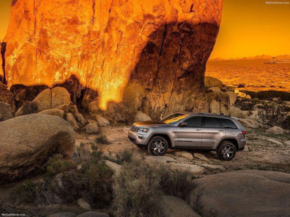 Jeep Grand Cherokee Trailhawk suv cars 2016 wallpaper