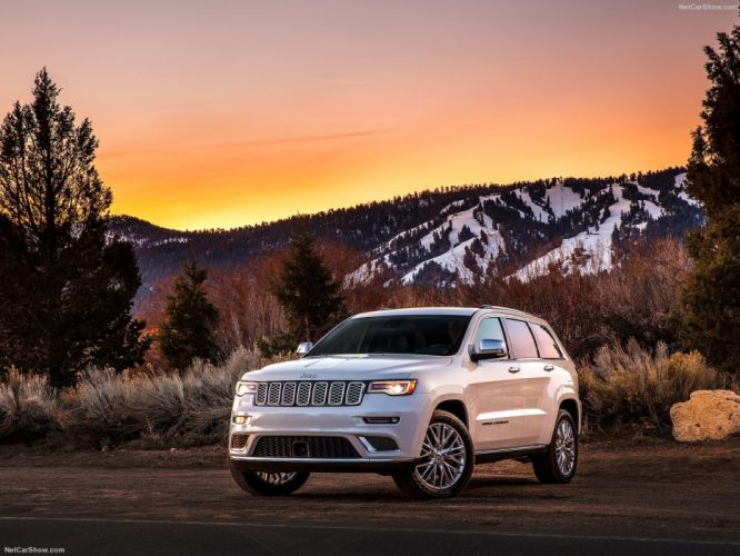 jeep Grand Cherokee Summit 4x4 cars 2016 wallpaper