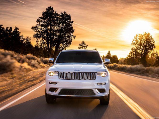 jeep Grand Cherokee Summit 4x4 cars 2016 wallpaper