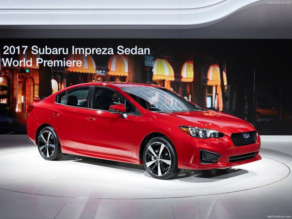Subaru Impreza sedan cars 2016 wallpaper