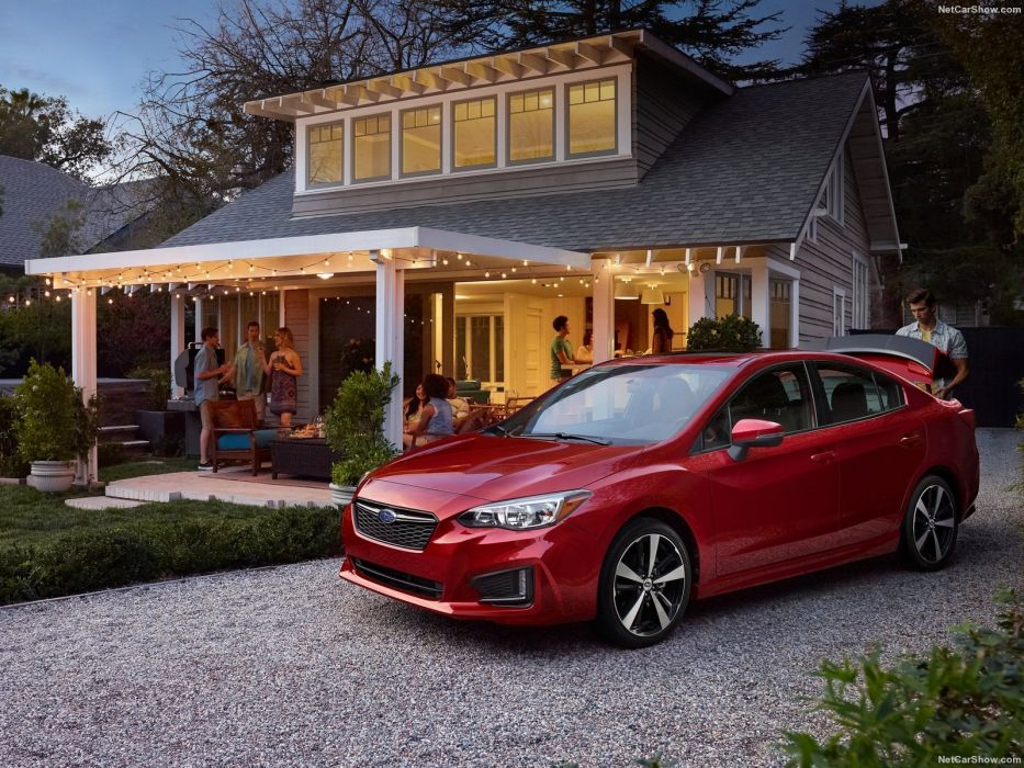 Subaru Impreza sedan cars 2016 wallpaper