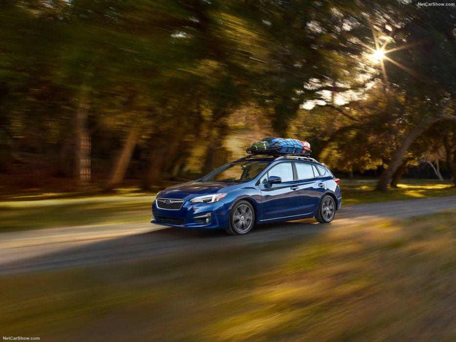 Subaru Impreza 5-door cars 2016 wallpaper