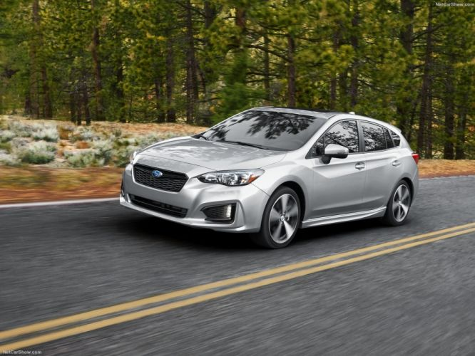 Subaru Impreza 5-door cars 2016 wallpaper