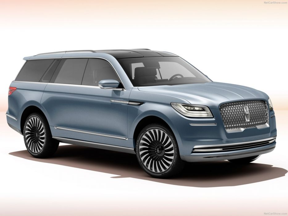 Lincoln Navigator Concept suv cars 2016 wallpaper