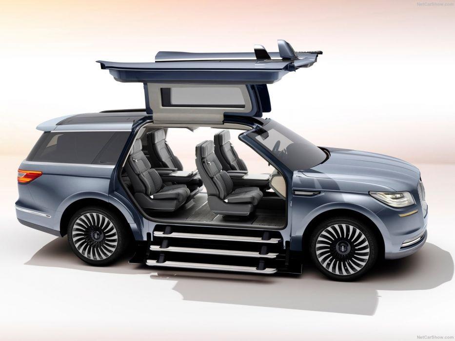 Lincoln Navigator Concept suv cars 2016 wallpaper