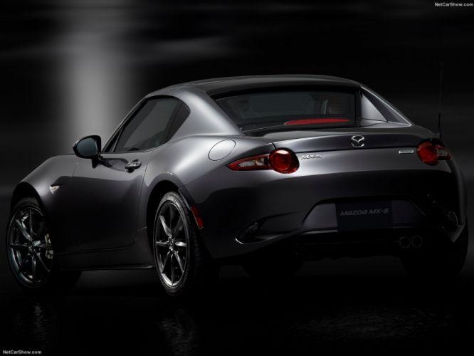 Mazda MX-5 RF targa cars 2016 wallpaper