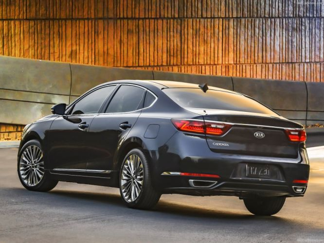 Kia Cadenza sedan cars 2016 wallpaper