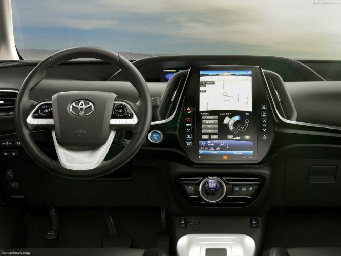 Toyota Prius Prime Plug-in Hybrid cars 2016 wallpaper