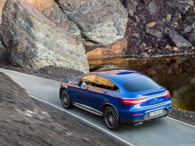 Mercedes Benz GLC Coupe suv cars 2016 wallpaper