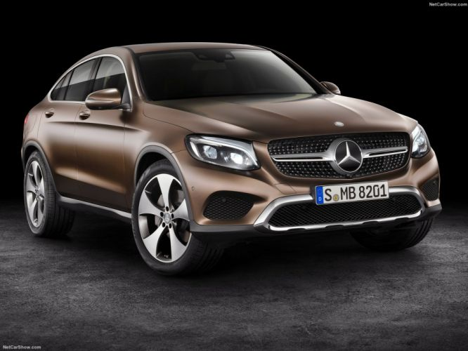 Mercedes Benz GLC Coupe suv cars 2016 wallpaper