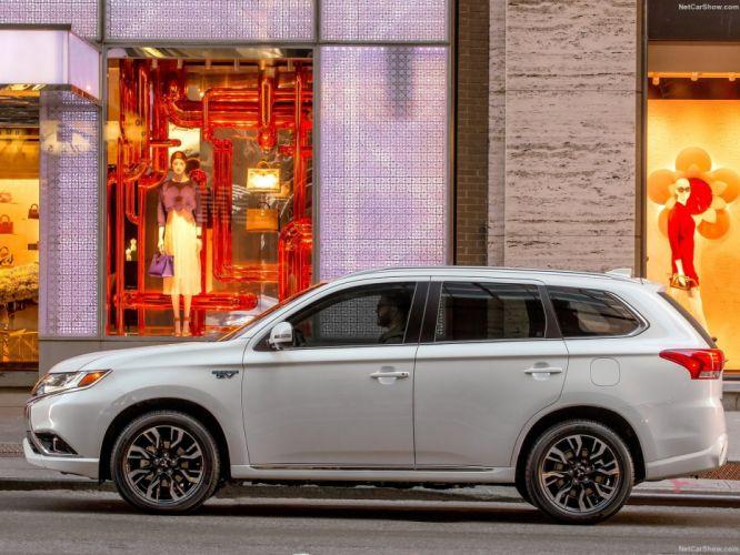 Mitsubishi Outlander PHEV cars suv 2016 wallpaper