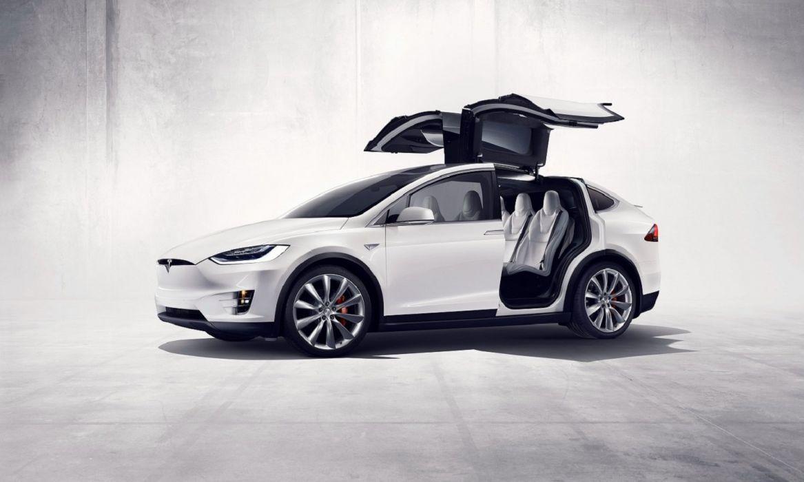 Tesla Model X P90D cars 2015 wallpaper