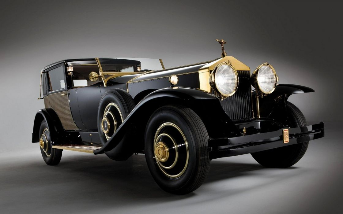 coche britanico antiguo rolls royce wallpaper