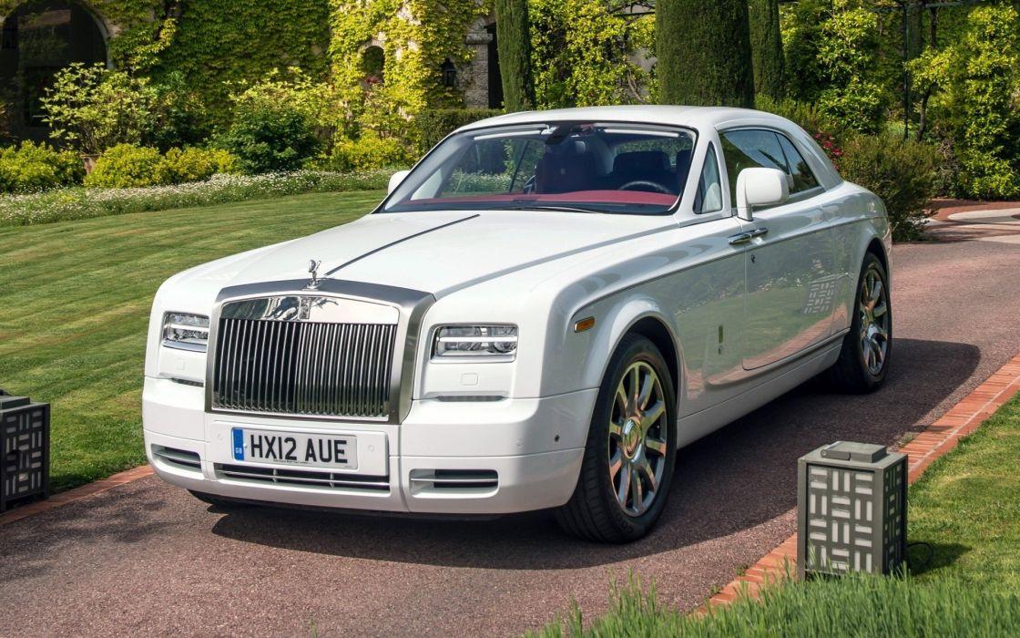 rolls rroyce blanco coche britanico wallpaper