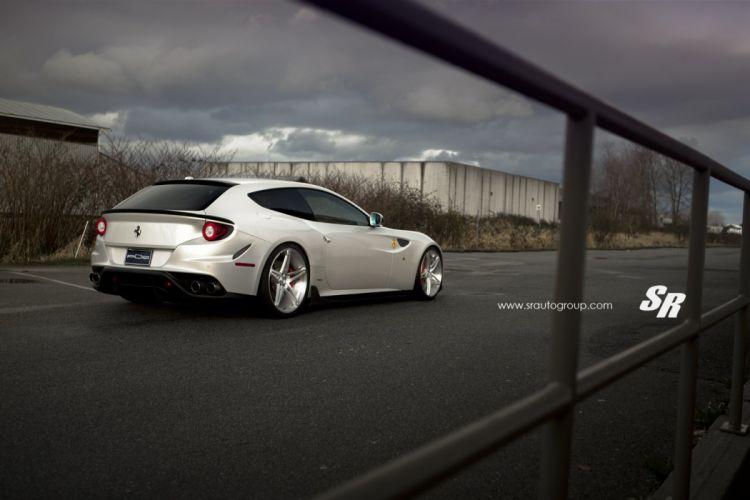 Ferrari FF cars PUR wheels modified wallpaper