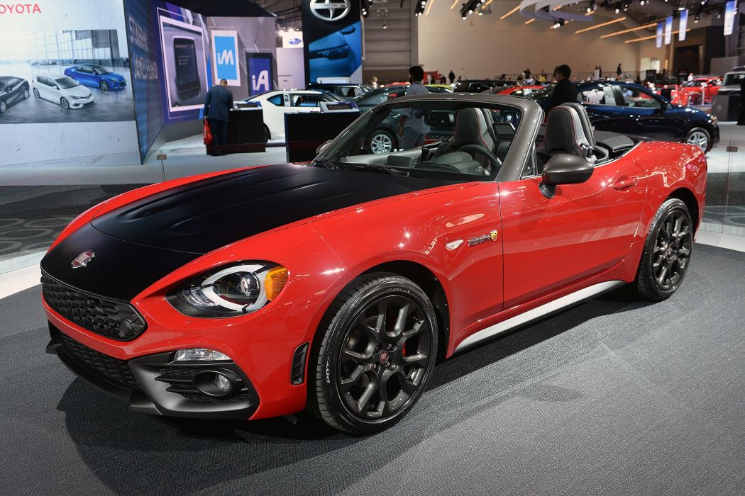 New York auto shows 2016 cars Fiat 124 Spider Elaborazione Abarth wallpaper