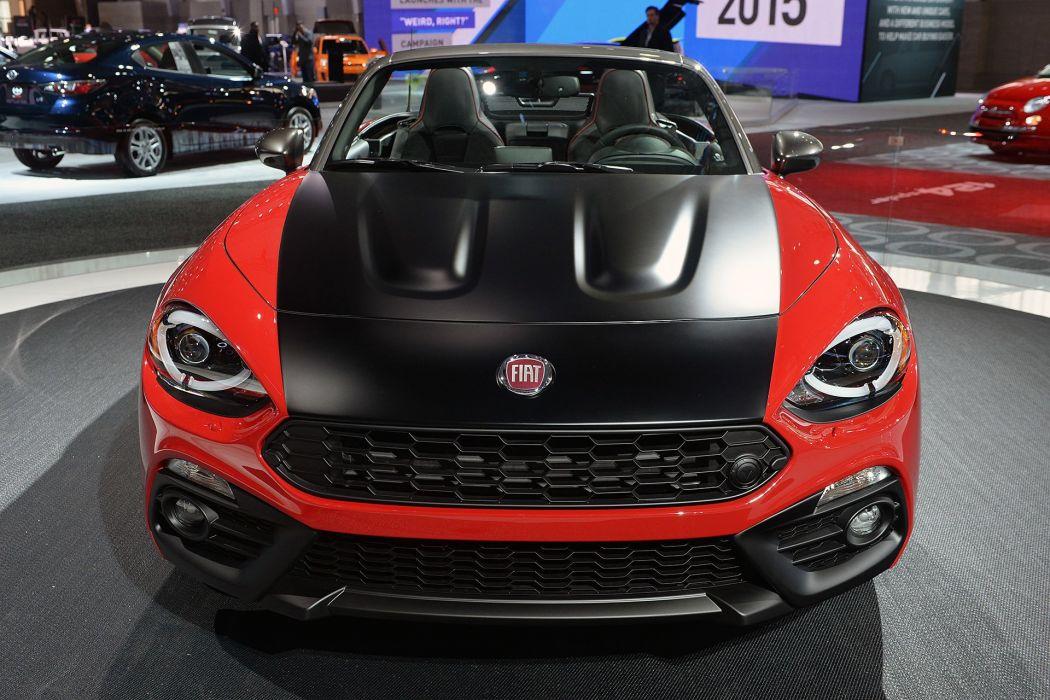 New York auto shows 2016 cars Fiat 124 Spider Elaborazione Abarth wallpaper