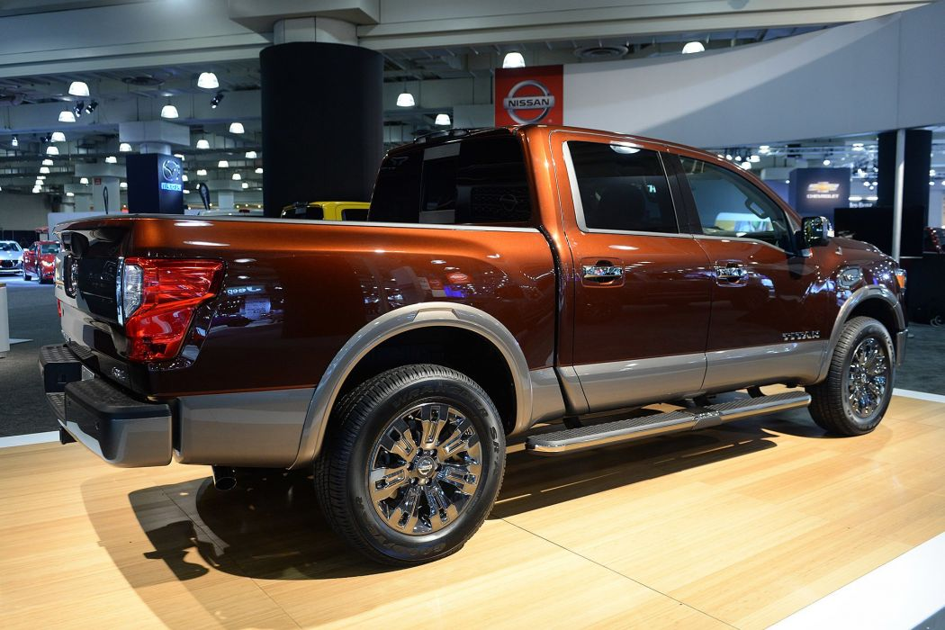 New York auto shows 2016 cars pickup Nissan Titan wallpaper