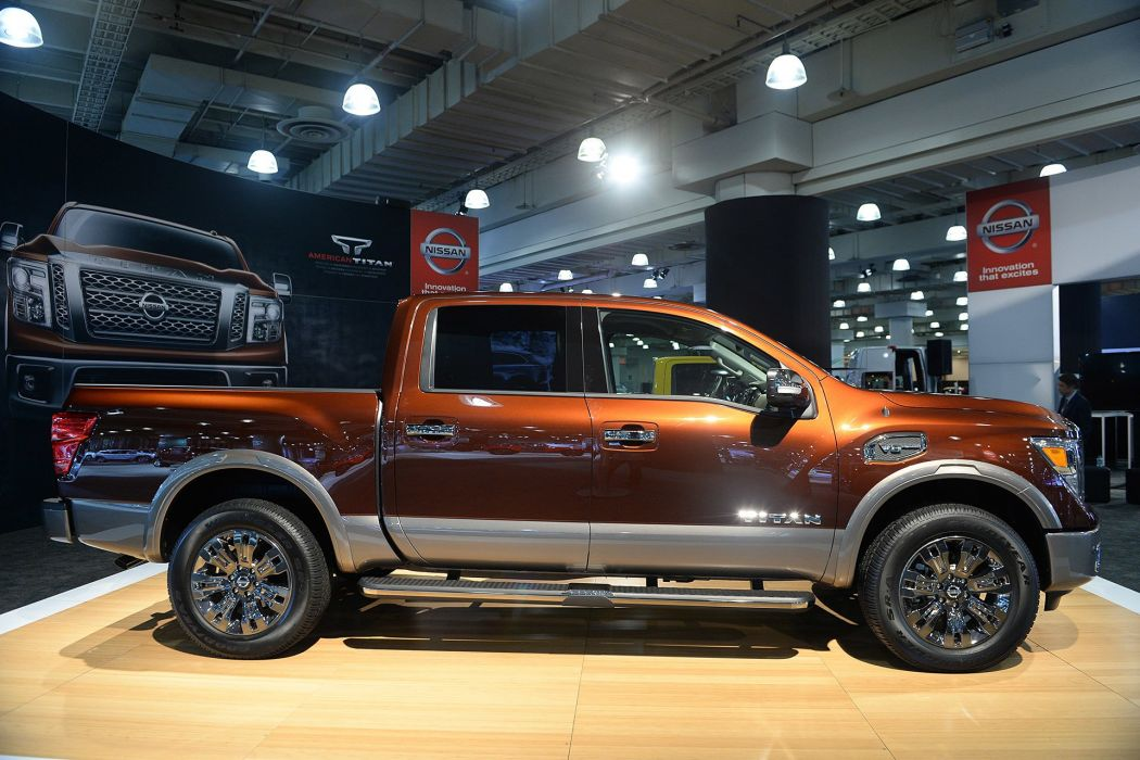 New York auto shows 2016 cars pickup Nissan Titan wallpaper