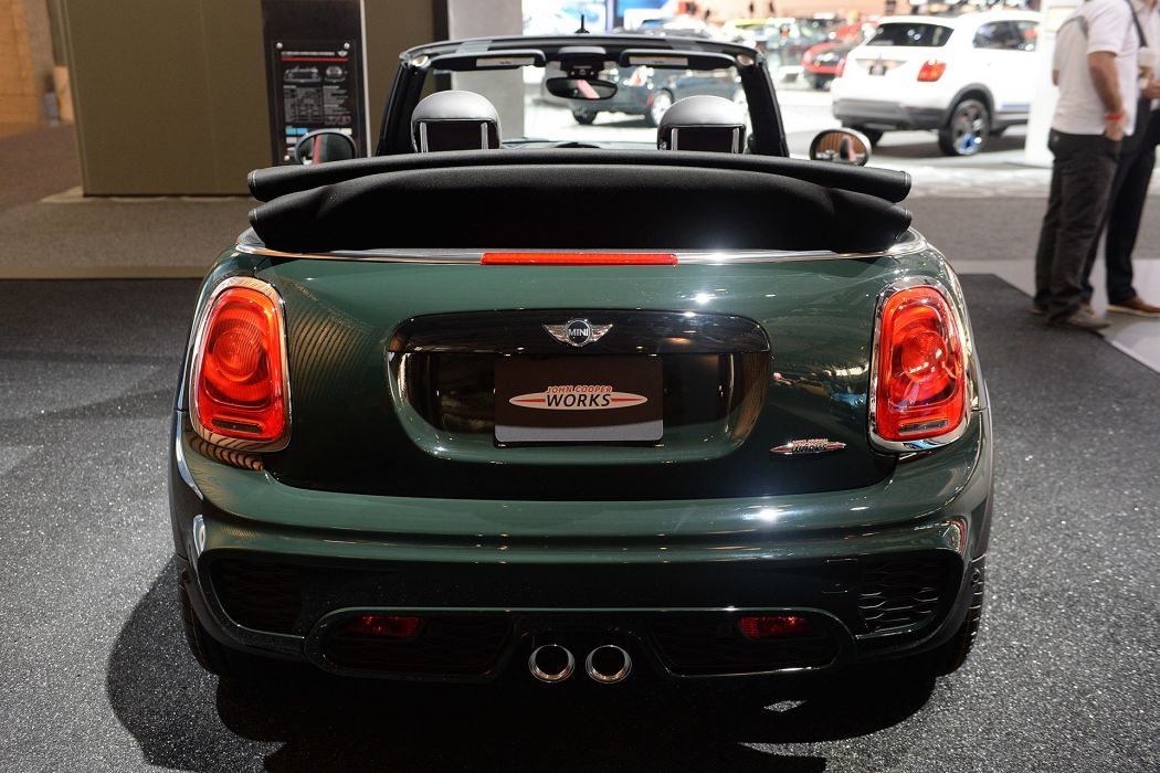 New York auto shows 2016 cars Mini John Cooper Works Convertible wallpaper