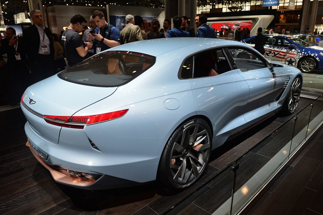 New York auto shows 2016 cars Genesis Hybrid Sports Sedan Concept wallpaper