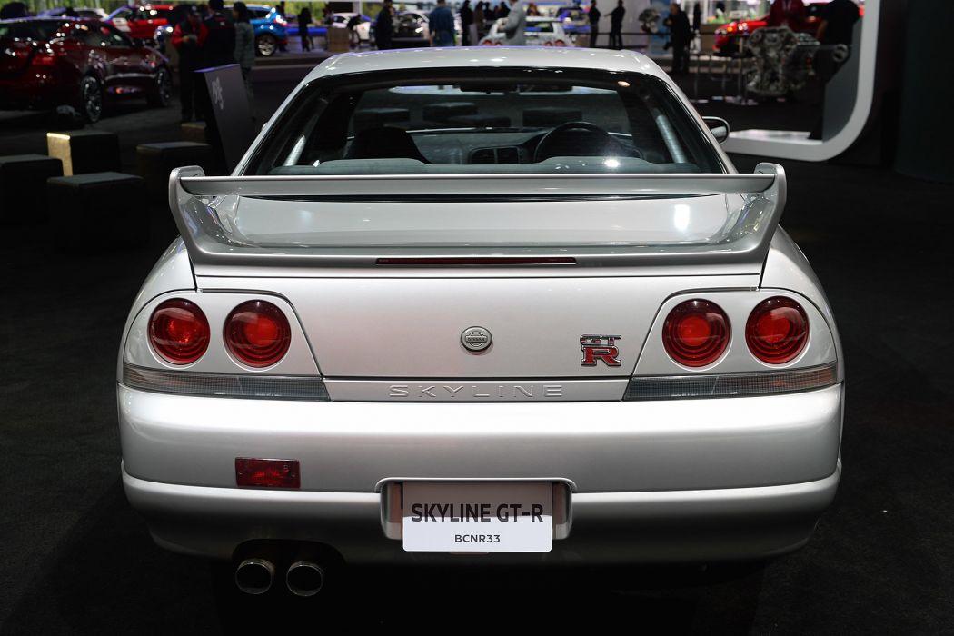 New York auto shows 2016 Nissan Skyline GT-R wallpaper