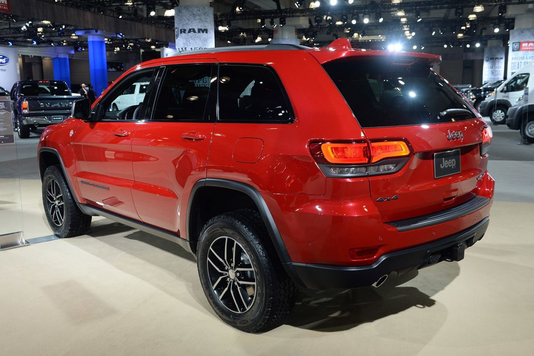 New York auto shows 2016 Jeep Grand Cherokee Trailhawk suv wallpaper