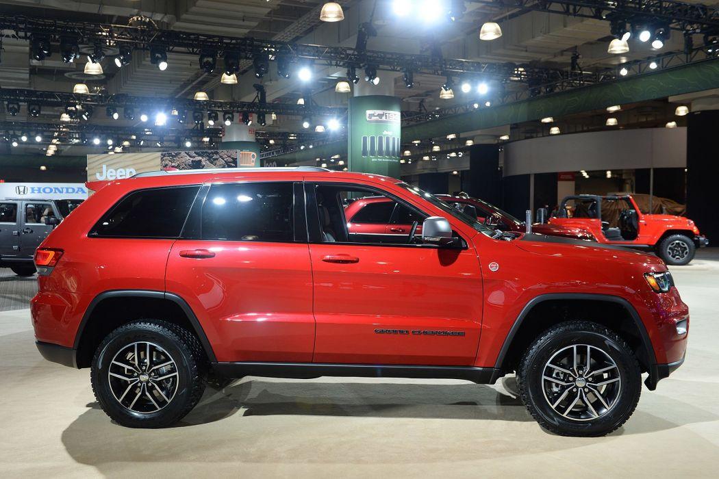 New York auto shows 2016 Jeep Grand Cherokee Trailhawk suv wallpaper