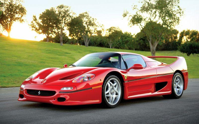 coche ferrari rojo italiano wallpaper