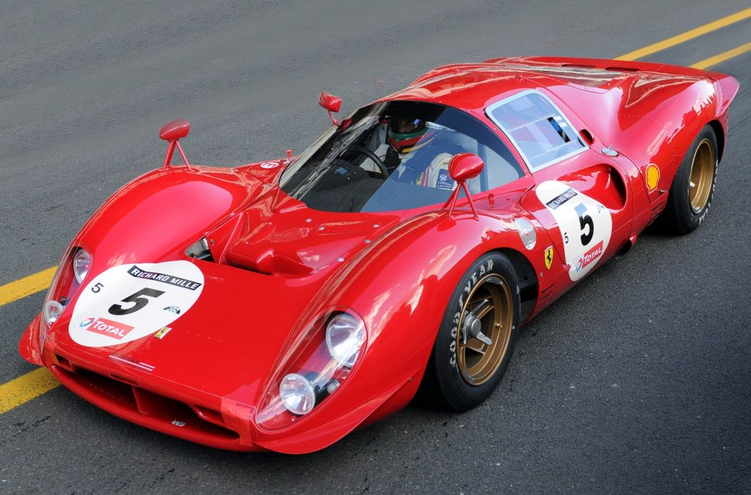 coche deportivo rojo competicion italiano ferrari wallpaper