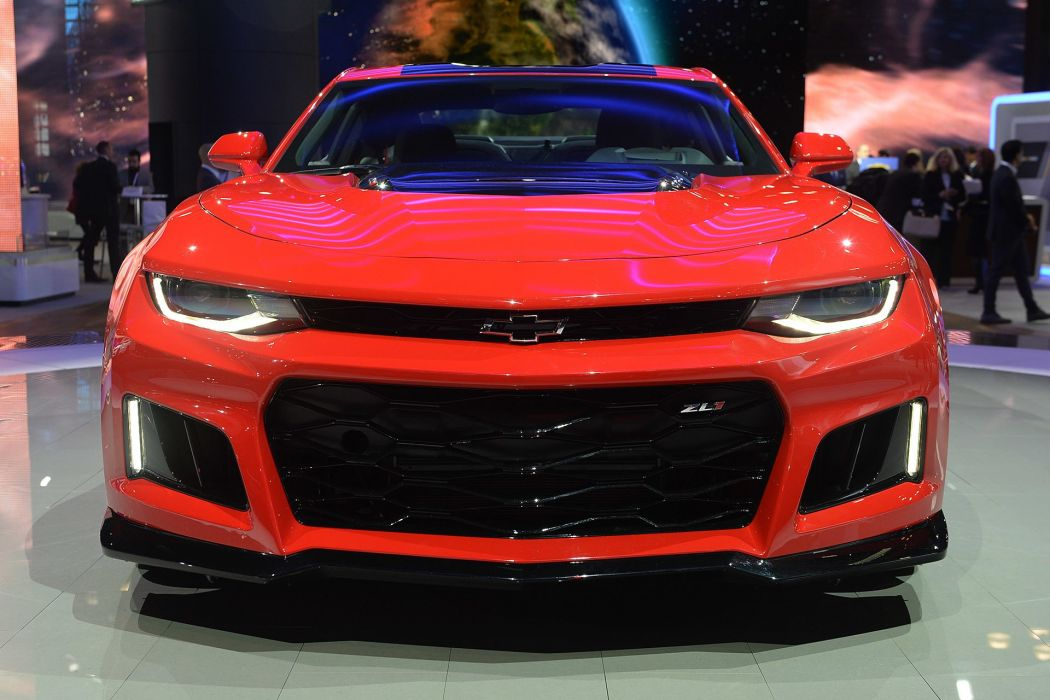 New York auto shows 2016 cars Chevrolet Camaro ZL1 coupe wallpaper
